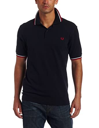 FRED PERRY - Sweater - Polo bleu Fred Perry - 1 - L - Bleu