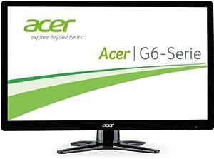 Acer G226HQLIBID 55,9 cm (21,5 Zoll) Monitor (VGA, DVI, HDMI, 2ms Reaktionszeit) schwarz