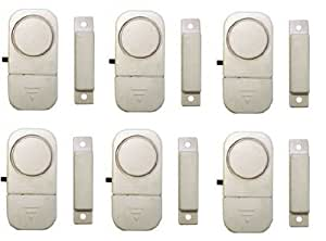Chacon 34041 Lot de 6 mini détecteurs d'ouverture/avertisseurs d'entrée