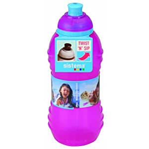 Sistema Twister Bottle, 330ml, Pink