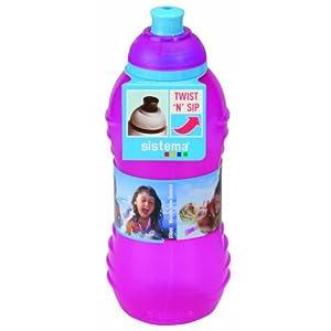 Sistema Twister Bottle, 330ml, Pink