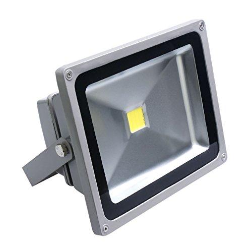 Auralum-30W-Super-Hell-230V-IP65-Wasserdicht-Grau-Kaltwei-LED-Auenstrahler-Fluter-Flutlicht