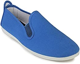 Scentra Mens Canvas Moccasins MMSBS