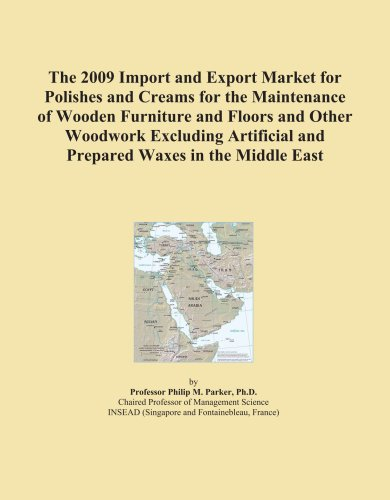 The 2009 Import and Export Market for Polishes and Creams for the Maintenance of Wooden Furniture and Floors and Other Woodwork Excluding Artificial and Prepared Waxes in the Middle East
