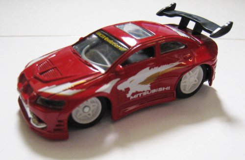 XTuner Die Cast Remote Control Car - Red Mitsubishi Lancer Evo III R/C Car