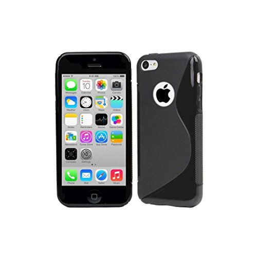 Style Icon Apple Iphone 5 5G 5S Black Silicone Gel S Line Grip Case Cover For Apple Iphone 5 5G 5S By G4GADGET®