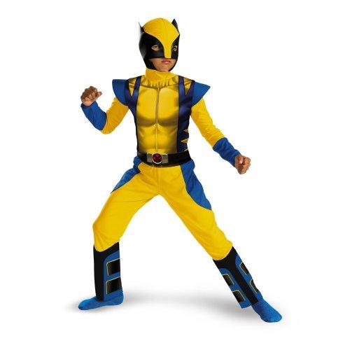 Wolverine Classic - Size: Child M(7-8) (I M A Super Hero Costume)