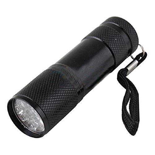 9 Super Bright Leds Flashlight Torch Mini Waterproof Torch Hiking And Camping Flashlight Random Color