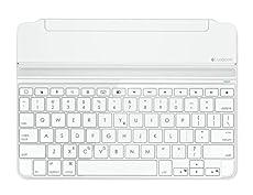 LOGICOOL ウルトラスリムマグネットクリップキーボードカバーfor iPad Airシルバー iK1060SV