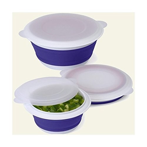 Collapsible Food Storage Containers Set Of 3 By Progressive International