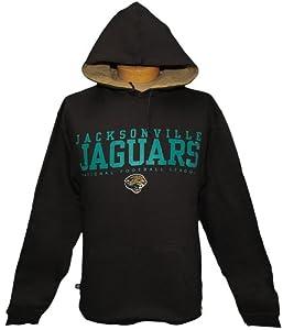 3XL Tall NFL Jacksonville Jaguars Black Pullover Hoodie / Jacket 3XLT by NFL