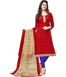 Navya Women's Chanderi Unstitched Dress Material