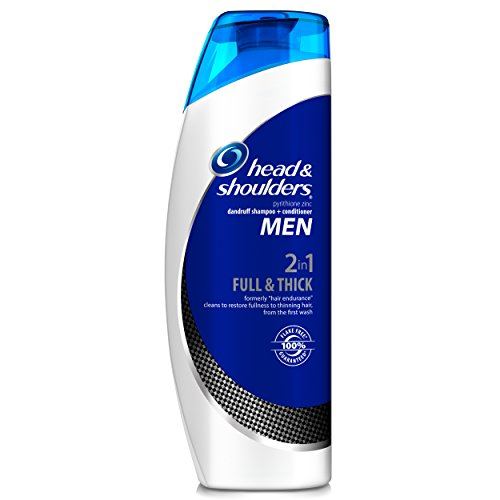Head and Shoulders Men Full & Thick 2-in-1 Dandruff Shampoo + Conditioner 13.5 Fl Oz (Head And Shoulders Men compare prices)