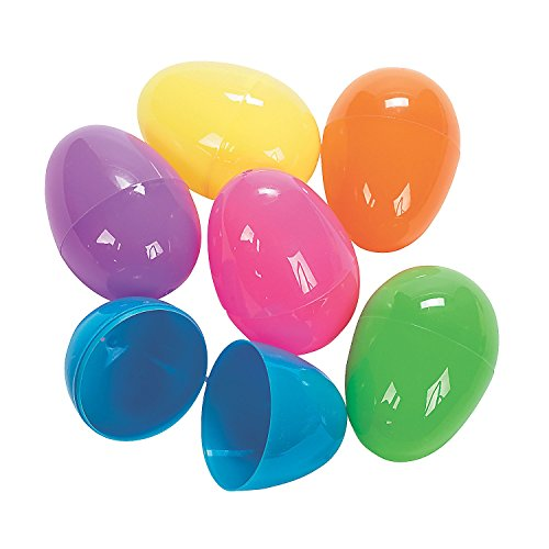 Bright Jumbo Easter Eggs (12 Pack) - Easter & Party Favors
