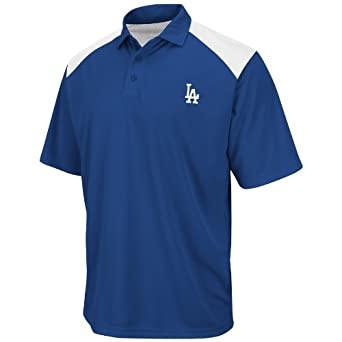 Los Angeles Dodgers Shoulder Polo Shirt by Majestic