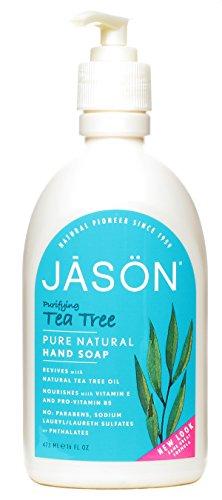 Jason Natural Products Liq Soap,Satin,Tea Tree, 16 Fz, Ea-1