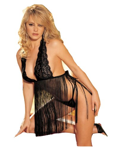 Anima Chemise Babydoll Set – Women's Sexy Lingerie (One Size, Fit 8-12)