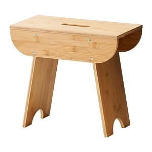 IKEA TRENDIG 2013 - Stool, bamboo: Amazon.co.uk: Kitchen