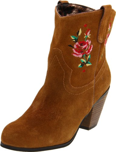 Betsey Johnson Womens Yodell Cognac