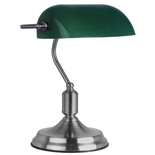 Retro-Brolampe-grn-Leselampe-Tischlampe-Banker-Lampe-Schreibtischlampe