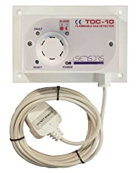 TOC-10 Natural Gas Detector Pre-wired by Sensors Ltd