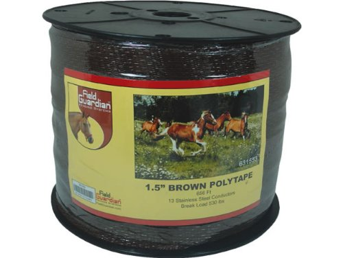 Field Guardian Polytape, 1.5-Inch, Brown