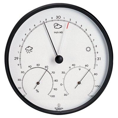 Weather Station Barometer Hygrometer 6.5 inch
