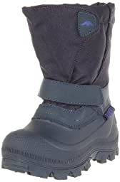 Tundra Quebec Wide Boot (Toddler/Little Kid/Big Kid),Navy,10 M US Toddler