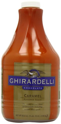 Ghirardelli Chocolate Flavored Sauce, Creamy Caramel, 90.4-Ounce (Chocolate Sauce Coffee compare prices)