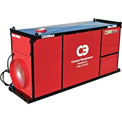 EcoBlaze Indirect Space Heater - Natural Gas and Propane, 1,000,000 BTU, 13,5000 CFM, Model# Blaze 1000G