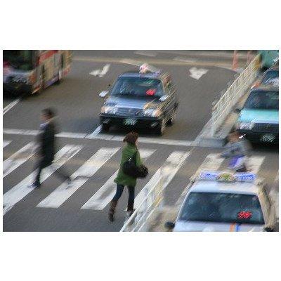 ポストカード「東京都渋谷区 渋谷駅前 横断歩道」絵はがきハガキ葉書