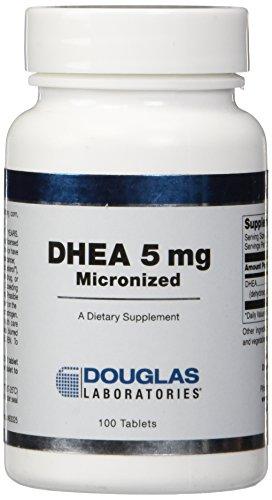 Douglas Laboratories Dhea Sublingual Tablets, 5 mg, 100 Count