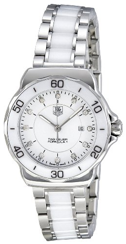 "Tag Heuer Women's WAH1315.BA0868 ""Formula 1"" Stainless Steel Sport Watch with Diamonds image"