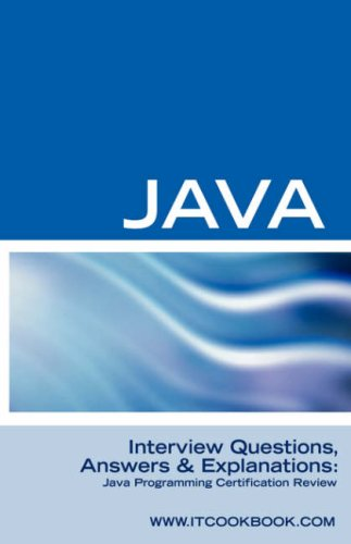 Java Interview Questions: Java Programming Certification Review