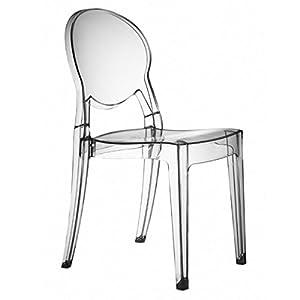Set 4 sedie Igloo Chair Colore Trasparente   recensione