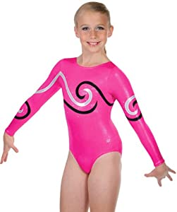 Pink Cyclone Competition Leotard (Adult Medium)