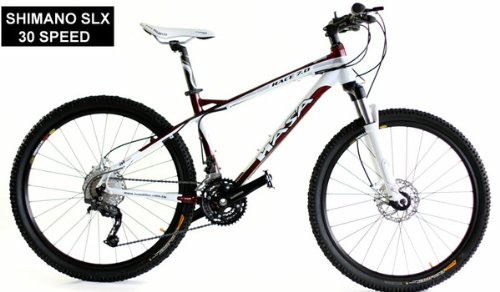 2012 HASA Mountain Bike Shimano SLX 30 Speed 18 Inch