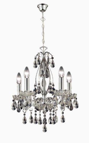 paul neuhaus kronleuchter 5 flammig chrom preisvergleich lampe leuchte g nstig kaufen. Black Bedroom Furniture Sets. Home Design Ideas