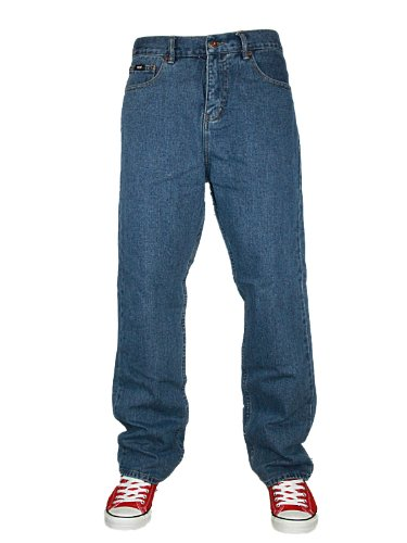 New Mens Blue Forge By Kam Jeans F100 Regular Fit Jeans Size W38 L30