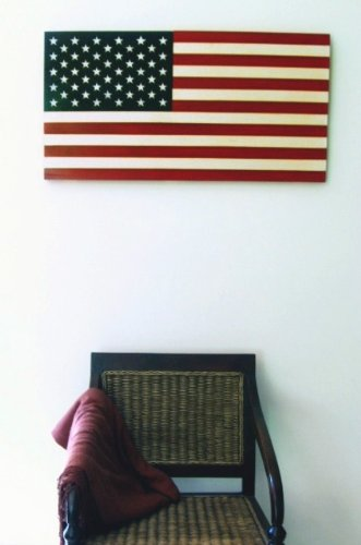 """36"""" X 19"""" Large Hand-Crafted Wood American Flag / Patriotic Wall Art Americana front-998023"""