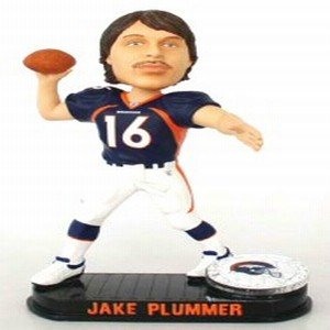 Buy Low Price Forever Collectibles Denver Broncos Jake Plummer Forever Collectibles Black Base Edition Bobble Head Figure (B000TGJ35S)