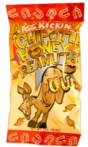 Ass Kickin Chipotle Honey Peanuts 1 Oz - Sweet As The Southwest Itself A Perfect Blend Of Honey And Chipotle Seasoning Make This A Taste Like No Other by Southwest Specialty Foods