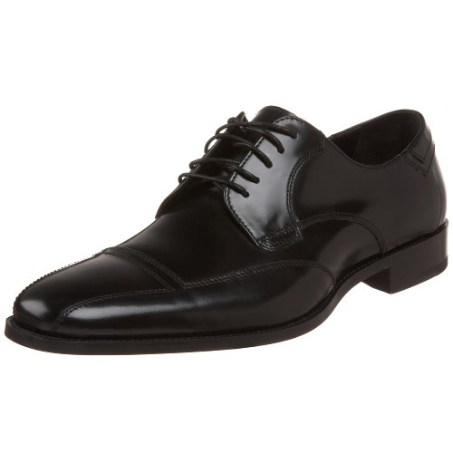 Johnston & Murphy Men's Gillum Runoff Lace-Up Oxford,Black,8 M US