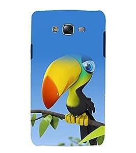 printtech Nature Bird Cartoon Back Case Cover for Samsung Galaxy J2 / Samsung Galaxy J2 J200F