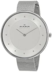 Skagen End-of-Season Gitte Analog Silver Dial Womens Watch - SKW2140