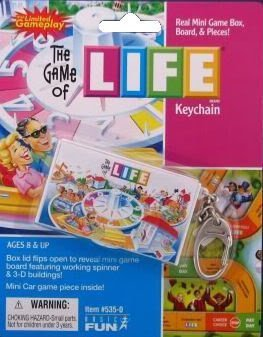Life Board Game Keychain by Basic Fun - 1