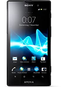 Sony Xperia ion Smartphone (11,7 cm (4,6 Zoll) Display, Qualcomm, 1,5GHz, 12,1 Megapixel, 13,2GB interne Speicher, Android 4.0) schwarz