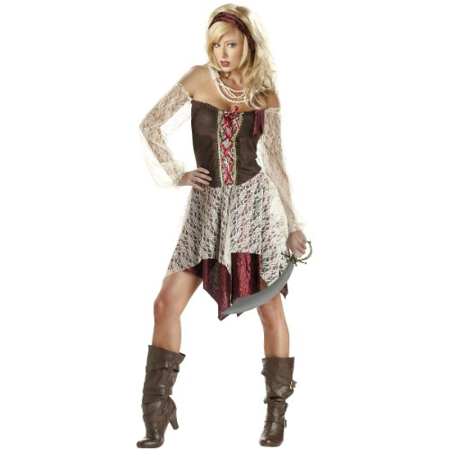 California Costume Collection - South Seas Siren Adult Costume - X-Large