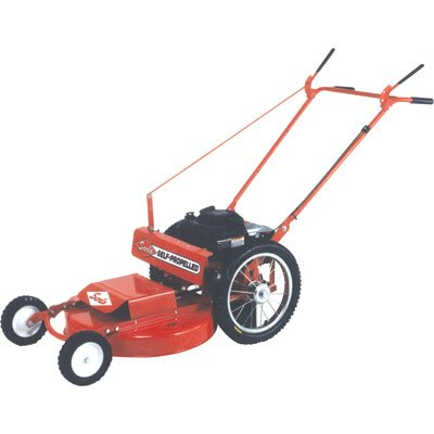 Sarlo Self-Propelled High Wheel Mower - Briggs & Stratton Intek Engine, 24in. Deck, Model# WX24SP