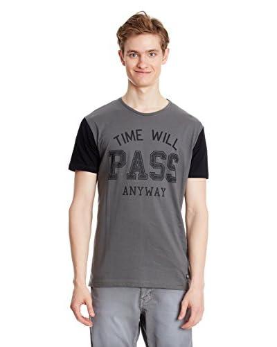 Springfield T-Shirt Manica Corta [Grigio]
